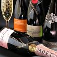特別な日などにシャンパンやスパークリングワインはいかがでしょうか?