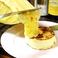 マッシュポテトのラクレットチーズかけ