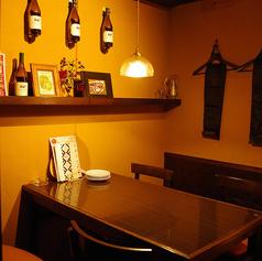 完全個室。落ち着いた空間で、お食事をお楽しみいただけます。※ご予約の方を優先的にご案内させていただいております。