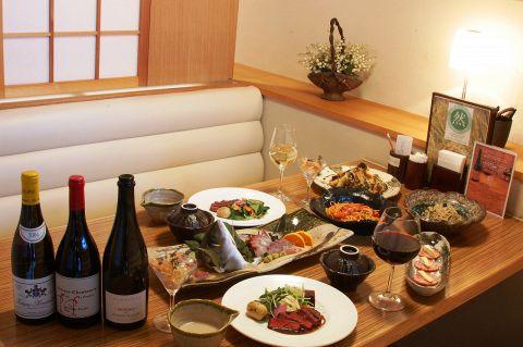 NZ牧草牛のヒレステーキが入った・・・【オーガニックコース】 料理12品 4400円(税込)