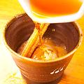 料理メニュー写真紅茶のアフォガードシナモン添え