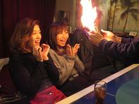 炎の中からサプライズ♪誕生日会や記念日に!