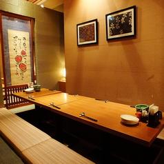 □■8名様用お席■□様々な人数にご対応!壁で仕切られた半個室タイプのお席です。小規模宴会や二次会、ご家族での食事と、多様なシーンでご利用いただけます。使い勝手がよくおすすめ◎お席のみのご予約も承っております。お気軽にお問合せください。