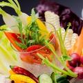 料理メニュー写真ユメサクサラダ(豆腐ディップ)