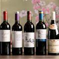 日本酒、日本国産ワインなどをはじめ、至高の鉄板メニューに相性の良いお飲み物を多く取り揃えております!