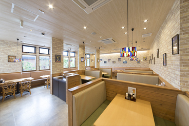 挽き立てハンバーグ&エビフライ 8989 岐阜羽島店の雰囲気1