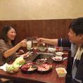 恋人やお友達とのプライベートなお食事にも大人気。おなかいっぱい食べて、飲んでお得なプランをご用意!普段使いのお食事やデートにも◎
