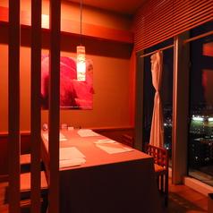 2~4人でご利用頂ける個室です。うち1室は夜景の見える限定1室の個室です