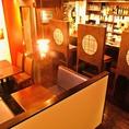 温もりのある店内貸切は30名から応相談。15名~だと、別館を貸し切ってガパオの料理とお酒が楽しめます。