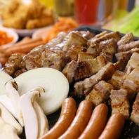 サムギョプサル、本格韓国料理食放プラン120分2480円!