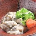 料理メニュー写真【旬の食材】地ガキ