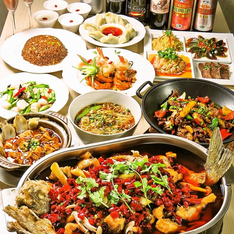 美と健康を第一に考えられた本場中国の料理人が織りなす最高の四川料理に心も満足♪