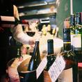ワインビュッフェで好きなワインを探すも良し!おすすめワインを聞くのも良し!