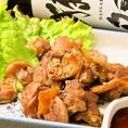 【オススメ!】備長嘆を使用した地鶏の炭火焼(780円(税抜))