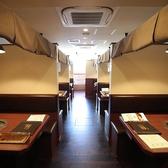 ~4名様用の半個室風のテーブル席です♪間仕切りもあり、プライベートな空間でお食事頂けますので、各種小宴会やデートなどにも◎