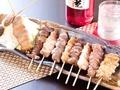 料理メニュー写真おまかせ串盛り(5本)/おまかせ串盛り(10本)