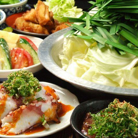 【選べるお鍋のコース♪】一品料理もしっかり♪2H 飲み放題付★3500円(税抜)