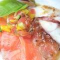 料理メニュー写真特選魚介のカルパッチョ