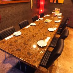6~8名様用テーブル個室