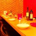 テーブルはご人数に応じてセッティング可能。お気軽にお問い合わせください☆肉宴会・女子会・記念日・貸切に♪ 【柏×誕生日×記念日×女子会×肉×チーズ】
