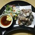 料理メニュー写真鯨の竜田揚げ