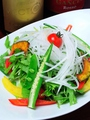 料理メニュー写真DAIKONのヘルシーサラダ