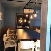 最大10名迄ご利用可能なテーブル個室。