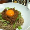 料理メニュー写真京水菜の肉みそ冷麺