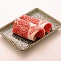 料理メニュー写真国産牛焼きしゃぶ/国産牛焼きすき
