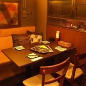 ソファが嬉しいゆったりテーブル個室席♪