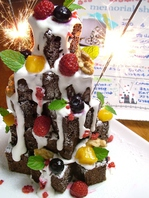 ケーキタワーコース3000円