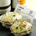 料理メニュー写真牡蠣のグラタン(1P~)
