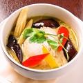 料理メニュー写真タイのグリーンカレー(タイ米付)/タイのイエローカレー(タイ米付)