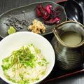 料理メニュー写真鶏スープ茶漬け