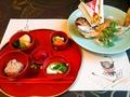 料理メニュー写真おめでたいお食い初めには祝い鯛をご用意致します。