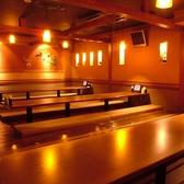 ゆったりとくつろげる掘りごたつのお席!最大50名様までご案内!橋本で居酒屋をお探しなら是非、橋本個室居酒屋 にじゅうまる橋本店をご検討下さい★橋本駅で充実のお料理の居酒屋です。【橋本 居酒屋 個室 宴会 】