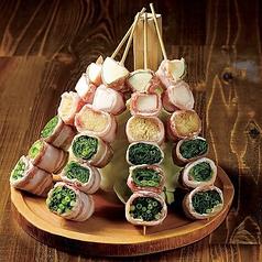 炭火野菜巻と魚串 ときわ福島のおすすめ料理1