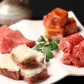 料理メニュー写真●勘九朗和牛4点盛り