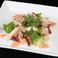 料理メニュー写真タコと長芋の明太子タパス