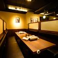 女子会や飲み会などにボックスシートもご利用ください!韓国料理と韓国のお酒で旅行気分が味わえます!