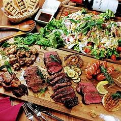 シュラスコ&肉バル TheOneのコース写真