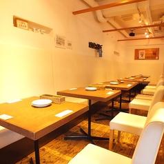 Italian cafe 145 a tableの雰囲気1