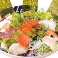 料理メニュー写真ミネラルたっぷり海鮮サラダ