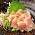 料理メニュー写真阿波尾鶏たたき