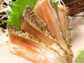 料理メニュー写真マグロ/炙りサーモン/いか