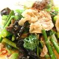 料理メニュー写真イベリコ豚と季節の野菜炒め