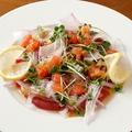 料理メニュー写真マグロのカルパッチョ 和風ヴィネグレット