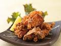 料理メニュー写真鶏もも唐揚チーズ/鶏もも唐揚/鶏もも唐揚ネギおろし/鶏ナンコツの唐揚