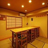 最大8名様までご利用頂ける個室です。※2名様でのご利用の場合、相席とさせて頂く可能性もございます