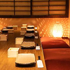 6名様からの完全個室もご用意しております。新横浜で完全個室居酒屋のご宴会/誕生日/記念日/女子会/接待でのご利用をお探しなら当店へ★【完全個室完備】